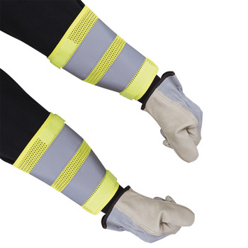 "HI-VIZ 8"" Traffic Cuffs - Yellow