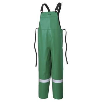 Ranpro P43 085 CA-43® Flame/ Chemical/ Acid Resistant Bib Pants - Green | Safetywear.ca