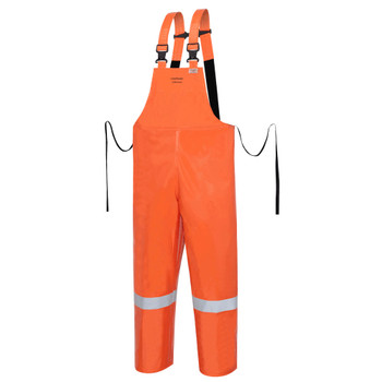 Ranpro P162 041 Utili-Gard® Flame Resistant/ARC Rated Bib Pants - Hi-Viz Orange | Safetywear.ca
