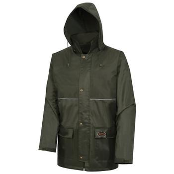 D8120J Waterproof Tree Planter Nailhead Ripstop Jacket | Safetywear.ca