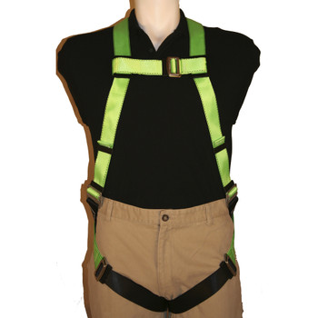 FBH-10000A Contractor Harness - 1D - Class A - Pass-Thur Buckles | Safetywear.ca