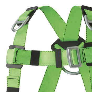 FBH-10000E Contractor Harness - 3D - Class AE - Pass-Thur Buckles | Safetywear.ca