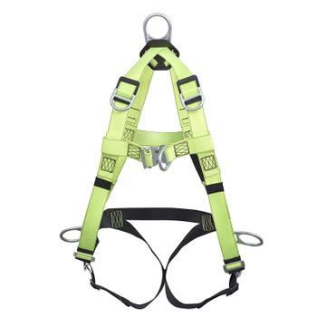 FBH-10000J Contractor Harness - 6D - Class APLE - Pass-Thur Buckles | Safetywear.ca
