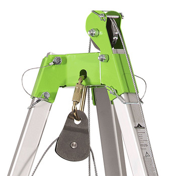 CSK3-60 Confined Space Kit: Tripod, 3-Way 60' (18 M) SRL, 65' (20 M) Man Winch and Bag   Safetywear.ca