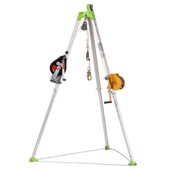 CSK3-60 Confined Space Kit: Tripod, 3-Way 60' (18 M) SRL, 65' (20 M) Man Winch and Bag | Safetywear.ca