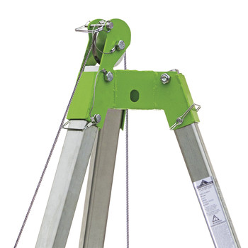 CSK2-65 Confined Space Kit: Tripod, 65' (20 M) Man Winch and Bag   Safetywear.ca