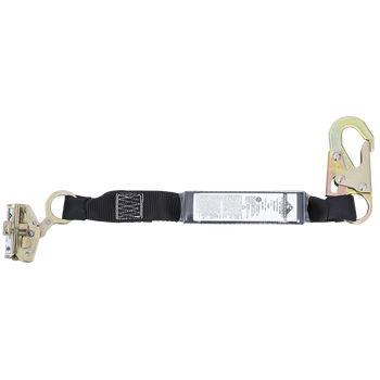 SA-3206-2 E4 Shock Absorbing Lanyard -SP- Single Leg - Snap & ADP Rope Grab - 2' (0.6 M) | Safetywear.ca