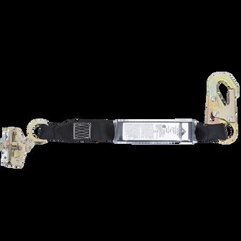 SA-3206-2 E4 Shock Absorbing Lanyard -SP- Single Leg - Snap & ADP Rope Grab - 2' (0.6 M)   Safetywear.ca