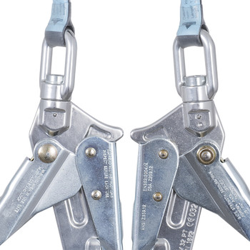 "SRL-50602-6LE LE SRL w 1"" (25 mm) Web - Al. Housing - Type 2 - Twin Leg - Form HK - 6' (1.8 M) 