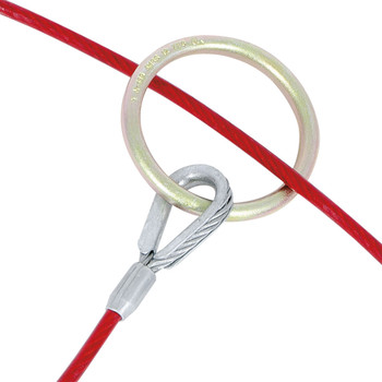 AS-21110-6 Cable Anchor Sling - 20 - Rings - 6' (1.8 M) | Safetywear.ca