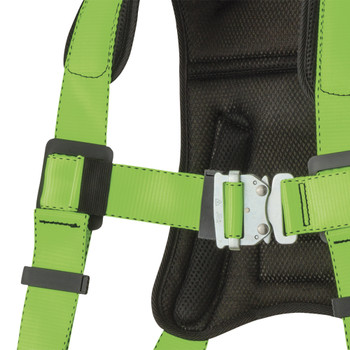 FBH-60120A Peakpro Harness - 1D - Class A - Stab Lock Chest Buckle | Safetywear.ca