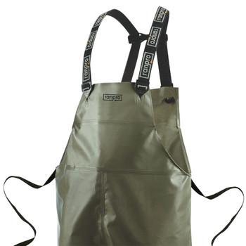 P35 060 Canadian Waterproof Rain Bib Pants - PVC Coated Poly | Safetywear.ca
