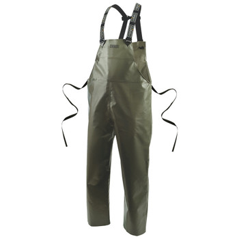 Ranpro P35 060 Canadian Waterproof Rain Bib Pants - Green | Safetywear.ca