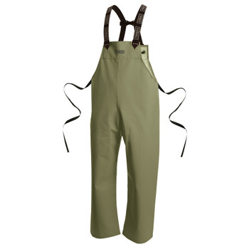 P34 060 Snapper® Waterproof Bib Pants - PVC Coated Poly/Cotton | Safetywear.ca