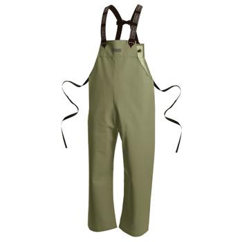 Ranpro P34 060 Snapper® Waterproof Bib Pants - PVC Coated Poly/Cotton | Safetywear.ca