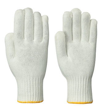 Natural/Yellow 568 Nylon Knit Glove