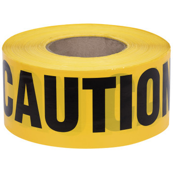 Yellow - 387 Caution Tape - 1,000' | Safetywear.ca
