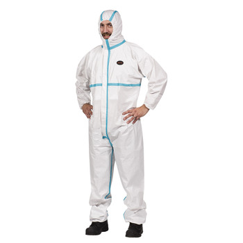 Pioneer 2076 Disposable Microporous Tope 4 Coveralls | Safetywear.ca