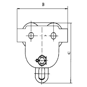 120252 SBT Series Manual Trolley - 1 Ton | Safetywear.ca