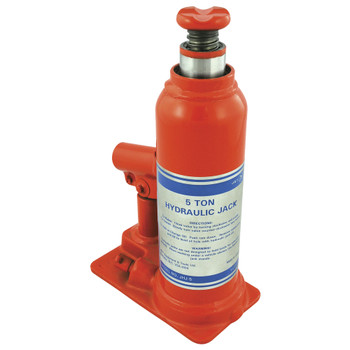 JHJ-5 Industrial Bottle Jack - 5 Ton | Safetywear.ca