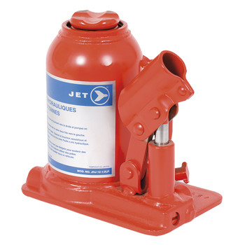 JHJ-12-1/2LP Jet Hydraulic Bottle Jack - Low Profile - 12-1/2 Ton | Safetywear.ca