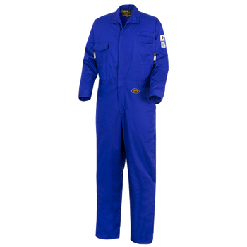 Royal Blue - 7779T FR-Tech 88/12 - Arc Rated Frame Resistance - Tall Coveralls 7oz - Royal Blue | Safetywear.ca