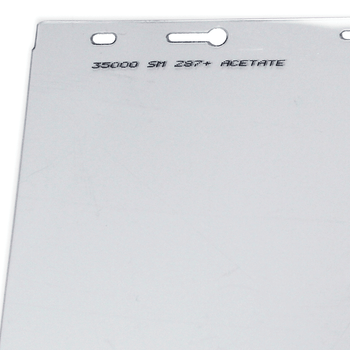 "S35000 Replacement Window for 390 Series Face Shield - 8""x12"" - Uncoated 