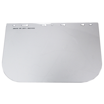 """S35000 Replacement Window for 390 Series Face Shield - 8""""x12"""" - Uncoated 