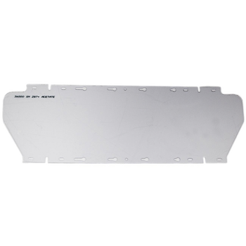 S36000 Replacement Window for 380 Series Face Shield - Clear - Uncoated | Safetywear.ca