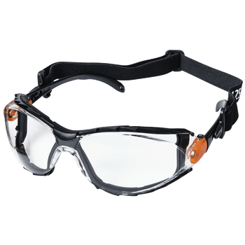 XPS502 Sealed Safety Glasses - Clear Tint | Safetywear.ca