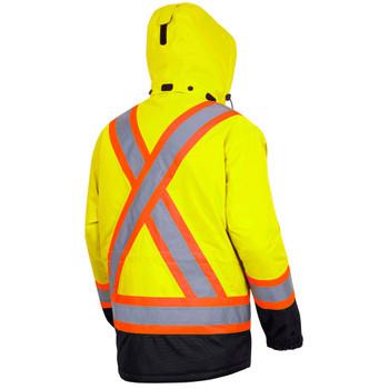 Pioneer 5408 Heated Insulated Safety Jacket - Hi-Viz Yellow | Safetywear.ca