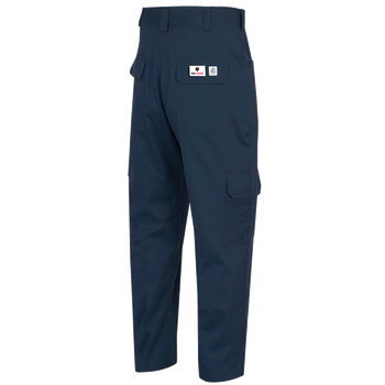 Navy - 7762 Fr-Tech® Fr/Arc Rated 7oz Safety Cargo Pants 88/12 Cotton/Nylon | Safetywear.ca