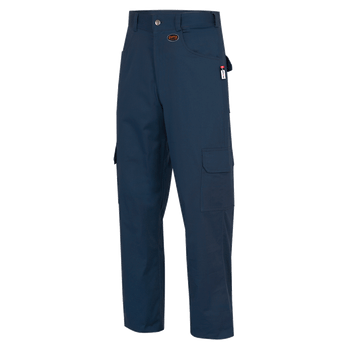 Navy - Back, 7762 Fr-Tech® Fr/Arc Rated 7oz Safety Cargo Pants 88/12 Cotton/Nylon   Safetywear.ca