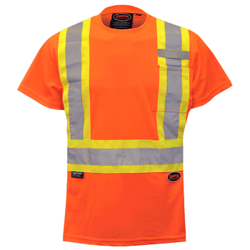 6948 Women's Birdseye Safety T-Shirt | Safetywear.ca