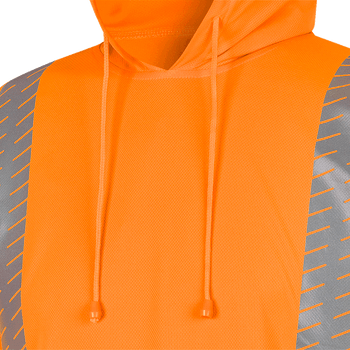 Birdseye Safety hoodie Shirt - Hi-Viz Orange | Safetywear.ca