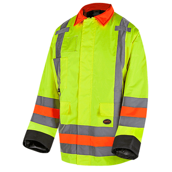 6040 Quebec Winter Insulated Traffic Control Jacket | Safetywear.ca