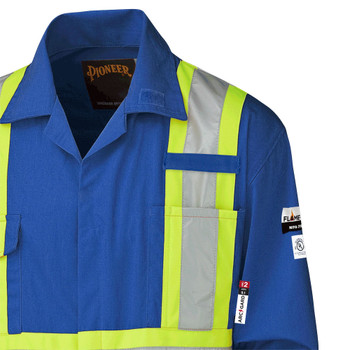 5552 Antistatic Flame-Gard Coverall | Safetywear.ca