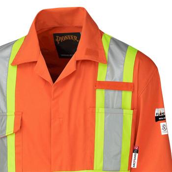5551 Antistatic Flame Gard Coverall - Hi-Viz Orange | Safetywear.ca
