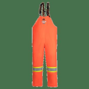 Pioneer 5882 Flame Resistant/ARC Rated Waterproof Bib Pants - HI-Viz Orange | Safetywear.ca