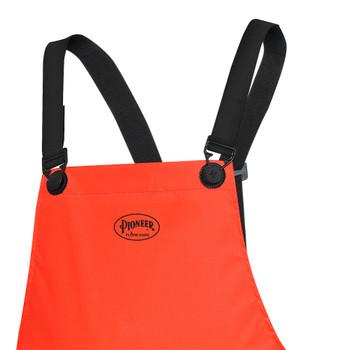 576P PVC/Polyester/PVC FR Pants - Hi-Viz Orange | Safetywear.ca
