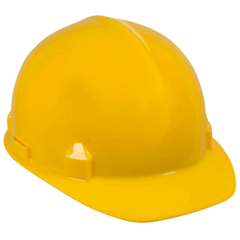 14833 SC-6 Series Premium Style Slotted Hard Hat Non-Vented - Yellow | SafetyWear.ca