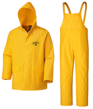 Yellow - 578 Flame Resistant PVC Rain Suit