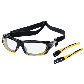 XPS530 Sealed Safety Glasses - 1/0 Tint (12/Pack) | Safetywear.ca