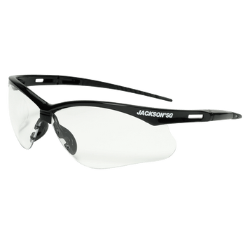 Jackson SG Series Premium Safety Glasses - Clear or Amber (12 Pack) | Safetywear.ca