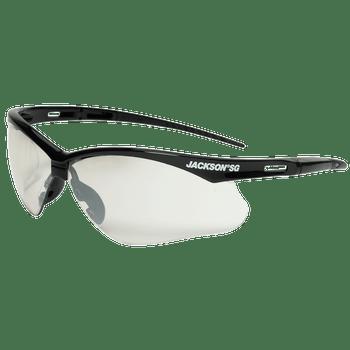 Jackson SG Series Premium Safety Glasses - Anti-Scratch, Interior/Exterior Coating (12 Pack)