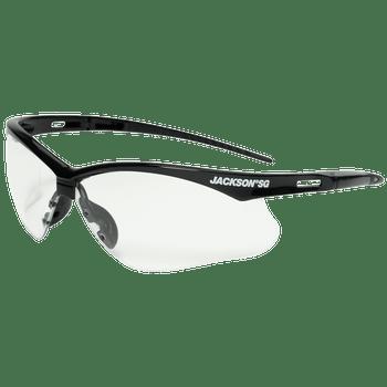 Jackson SG Series Premium Safety Glasses - Anti-Fog Coating - Clear/Smoke Mirror Lens (12 Pack) | Safetywear.ca