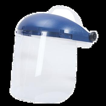 Sellstorm Single Crown Face Shield with Window and Racheting Headgear - Anti-Fog | Safetywear.ca