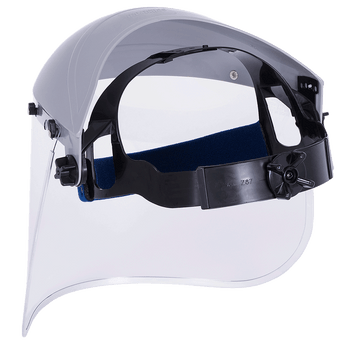 Sellstorm Single Crown Face Shield with Window and Ratch | Safetywear.ca