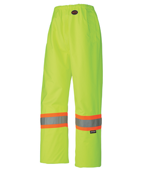 Yellow-Green 5586 Hi-Viz 100% Waterproof Waist Pant