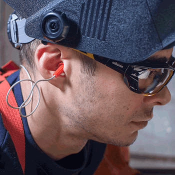 Jackson Corded Reusable Ear Plugs - 26DB NRR | Safetywear.ca